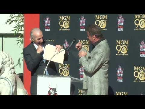 MGM 90th Anniversary - Leo the Lion Paw Print Ceremony