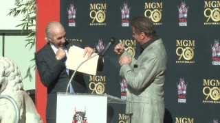 MGM 90th Anniversary - Leo the Lion Paw Print Ceremony