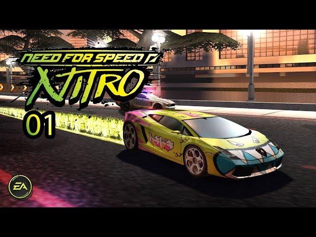 Need for Speed Nitro Gameplay Part 1-Rio De Janeiro