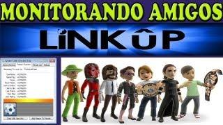 LiNK Checker -1.02  ( MONITORANDO AMIGOS NA LINK UP XBOX360 RGH )