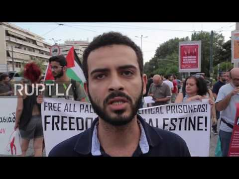 Greece: Anti-war demonstrators protest Netanyahu's state visit in Greek capital