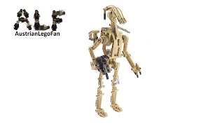 Lego Technic 8001 Star Wars Episode 1 Battle Droid - Lego Speed Build Review