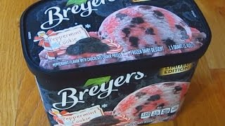 Breyers Ice Cream - Peppermint Cookie Limited Edition Thumbnail