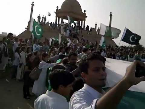14th Aug, 2012 Jeevay Pakistan March