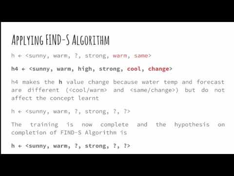 Practical Machine Learning: 2.6 - General to Specific Ordering