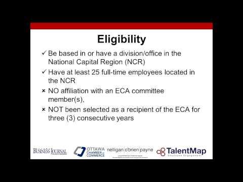 "2014/2015 ECA Webinar Series: ""Top 5 Reasons Companies Complete Employee Engagement Surveys"""