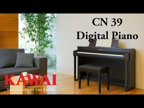 KAWAI CN39 Digital Piano DEMO - ENGLISH