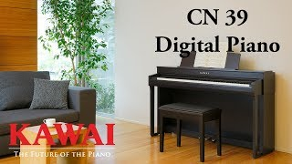 KAWAI CN39 Digital Piano DEMO - ENGLISH