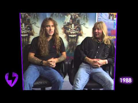 Iron Maiden: The Raw & Uncut Interview - 1988
