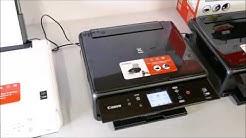 Vergleich von Canon Pixma TS 5051, TS 6050 und TS 8050 Multifunktionsdrucker