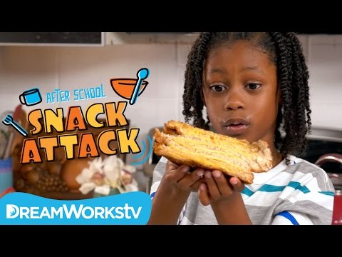 Grilled Cheese Sandwiches I AFTER SCHOOL SNACK ATTACK