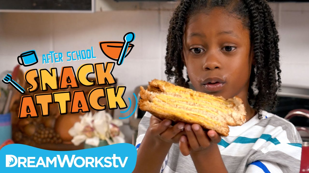 Grilled Cheese Sandwiches I AFTER SCHOOL SNACK ATTACK - YouTube