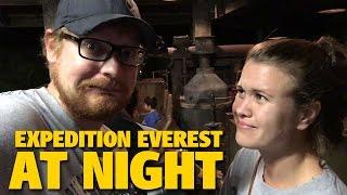 Riding EXPEDITION EVEREST AT NIGHT! | Animal Kingdom