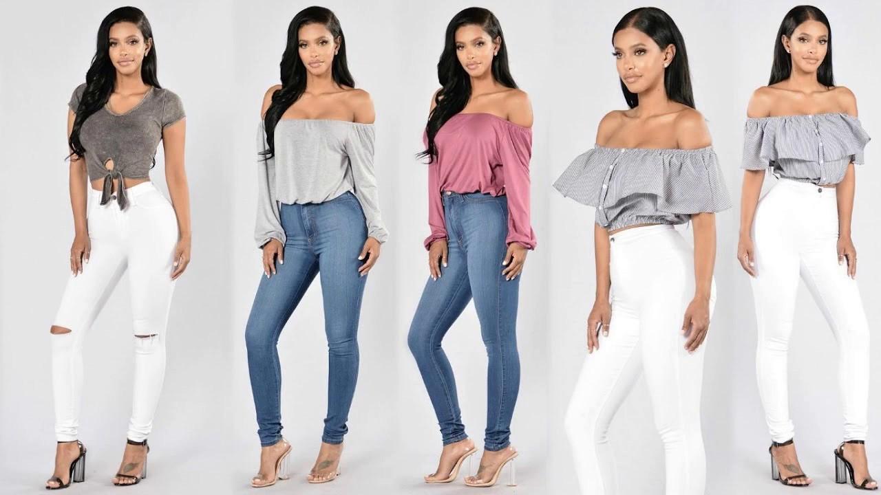 Moda y tendencias combinaciones de ropa 2018 youtube - Tendencias en ropa ...