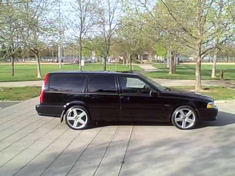 """Volvo V70R Custom Exhaust 18"""" Pegasus Wheels - YouTube"""