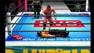 Shin Nippon Pro Wrestling Toukon Retsuden 3 gameplay