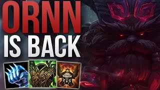 ORNN BUFFS IN PATCH 9.2 MADE HIM GOOD AGAIN | CHALLENGER ORNN TOP GAMEPLAY | Patch 9.2 S9
