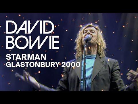 David Bowie - Starman, Live at Glastonbury 2000 (Video Clip)