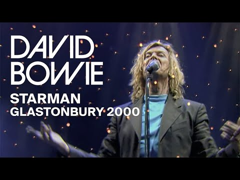 David Bowie - Starman, Live at Glastonbury 2000 (Video Clip)