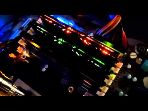 AVEXIR Blitz 1.1 RAM In Action With LEDs