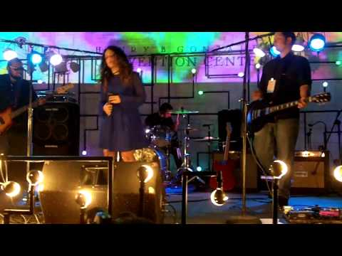 """Luminaria 2012 """"Color the stars""""  video artist Laura Grace Robles joins Ledaswan Indie Rock band"""