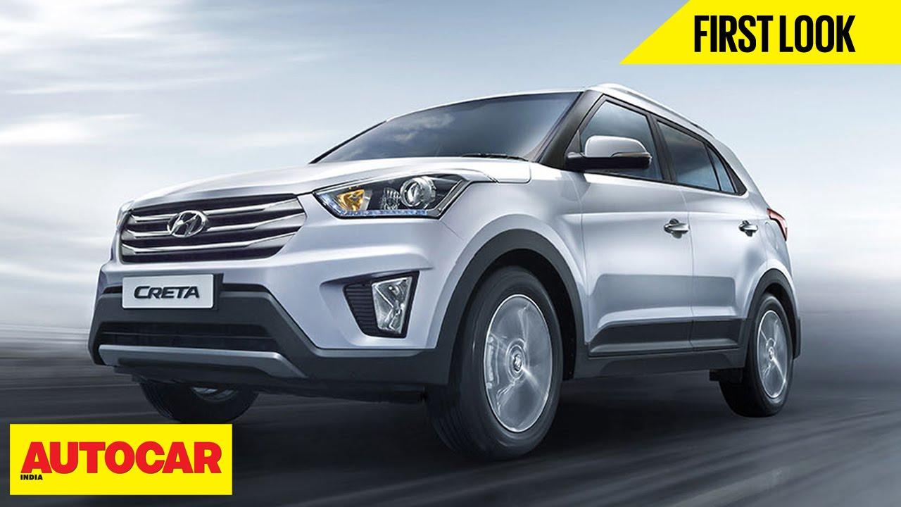 Hyundai Creta   First Look   Autocar India - YouTube
