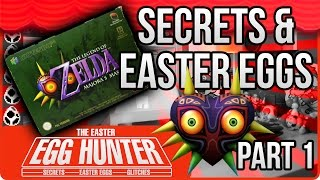 Legend of Zelda Majora's Mask Easter Eggs Part 1 - The Easter Egg Hunter