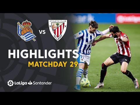 Highlights Real Sociedad vs Athletic Club (1-1)
