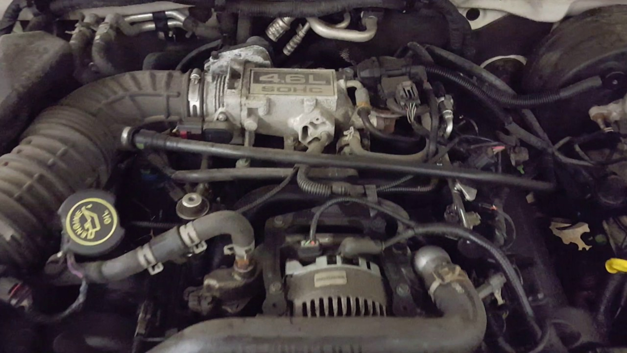 Cl1232 - 2004 Ford Explorer Eddie Bauer - 4 6l Engine
