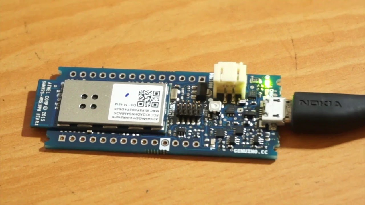 Part arduino mkr getting started to programming