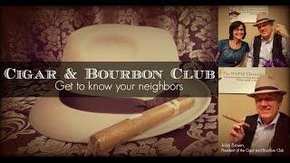 John Brown, President of the Cigar and Bourbon Club
