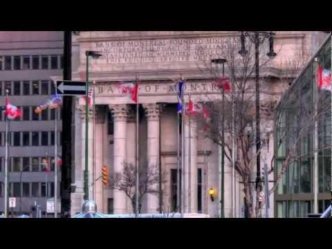 Bank of Montreal in downtown Winnipeg