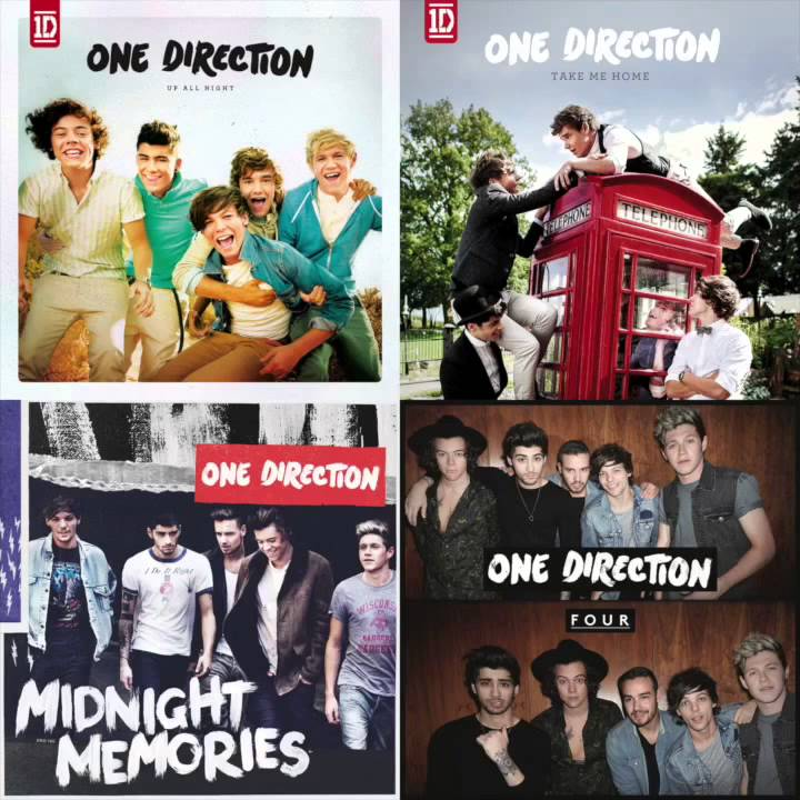 One direction up all night full album
