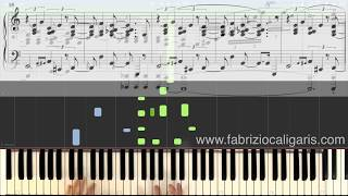 Santa Claus Is Coming To Town - Piano cover - Tutorial - PDF