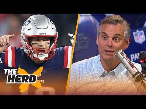 Colin On Tom Brady's Performance Against The Colts, Throwing For 500+ TDs | NFL | THE HERD