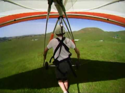 Graylan's Hang Gliding Lesson!