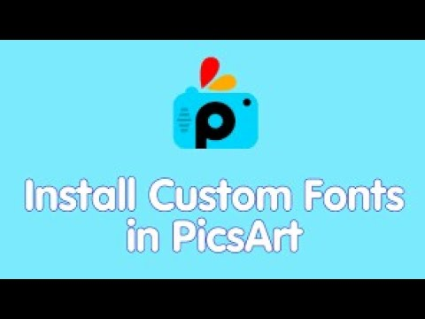 How To Add Font In Picsart