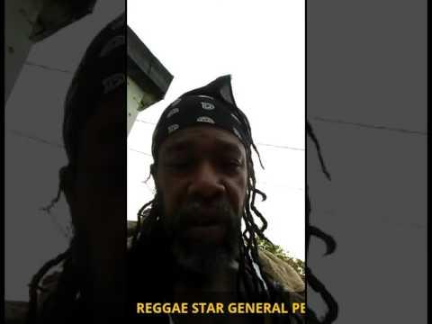 REGGAE STAR GENERAL PECOS ENDORSE ONE NATION - TOGETHER TOUR.
