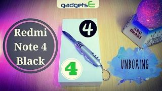 Redmi Note 4 Black Colour Unboxing India | 4GB RAM & 64GB ROM