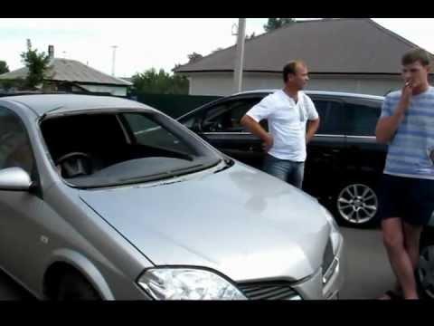 Автомобиль заблокирован на автосервисе в Кемерове
