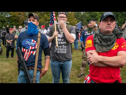 Proud Boys, Self-described Chauvinists, Hold Rally In Portland