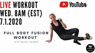 FULL BODY FUSION WORKOUT