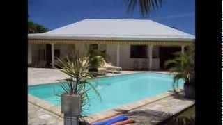 ANTILLES - GUADELOUPE : location villa ALAMANDA avec piscine