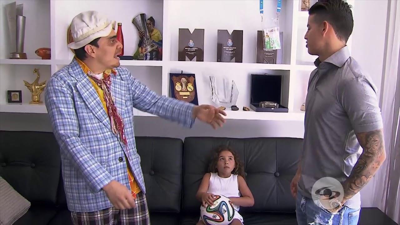 James rodriguez (parte 2) The Suso's Show Caracol TV