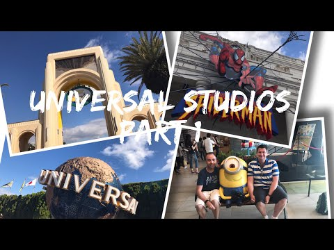 Japan Vlog - May 2017 - Day 9 - Universal Studios Japan, Osaka - Part 1