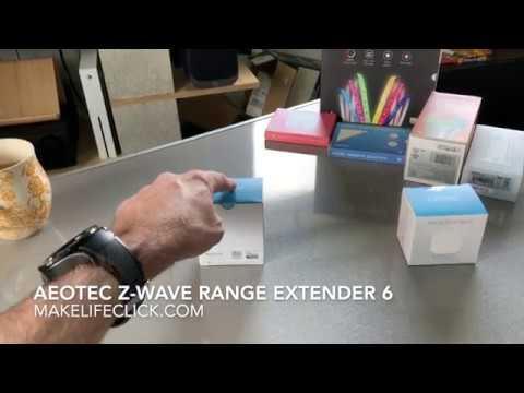 AEOTEC Z-WAVE RANGE EXTENDER 6 - HOW IT WORKS