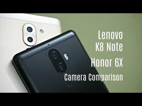 Lenovo K8 Note vs Honor 6X Rear Camera Comparison