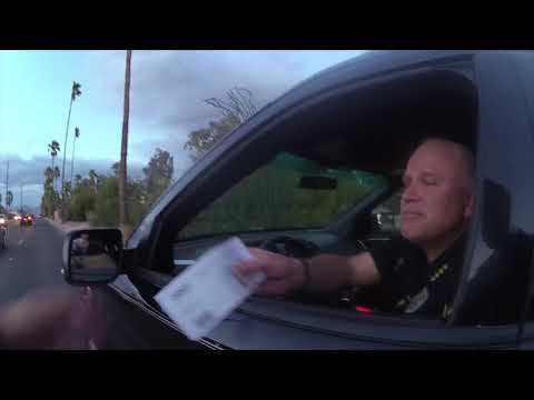 Tucson police chief pulled over