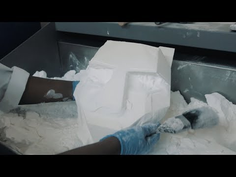 Black Tiger Sex Machine Helmet - Making Of