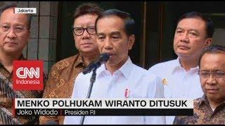 Jokowi Perintahkan Kapolri, Panglima TNI Hingga BIN Usut Tuntas Kasus Penusukan Wiranto